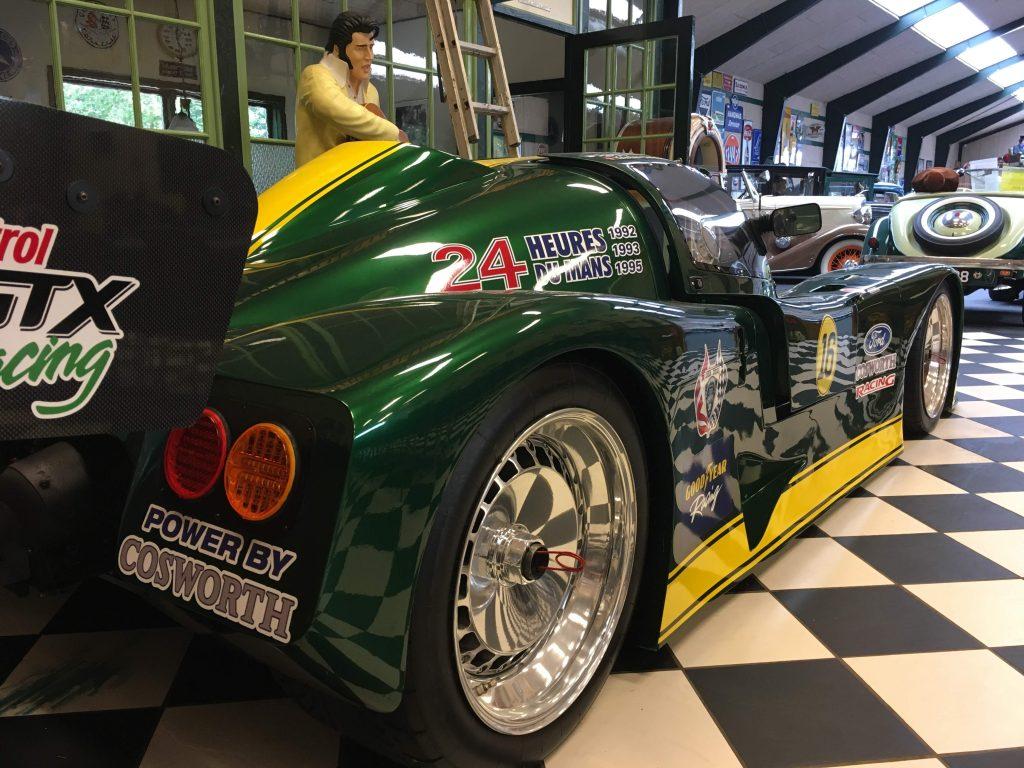 Ikonisk Le Mans racer hos Læborg Autohandel fanger SuitRace.com opmærksomhed. Det er Pro Sport 1994 LM3000-racerbil fra England