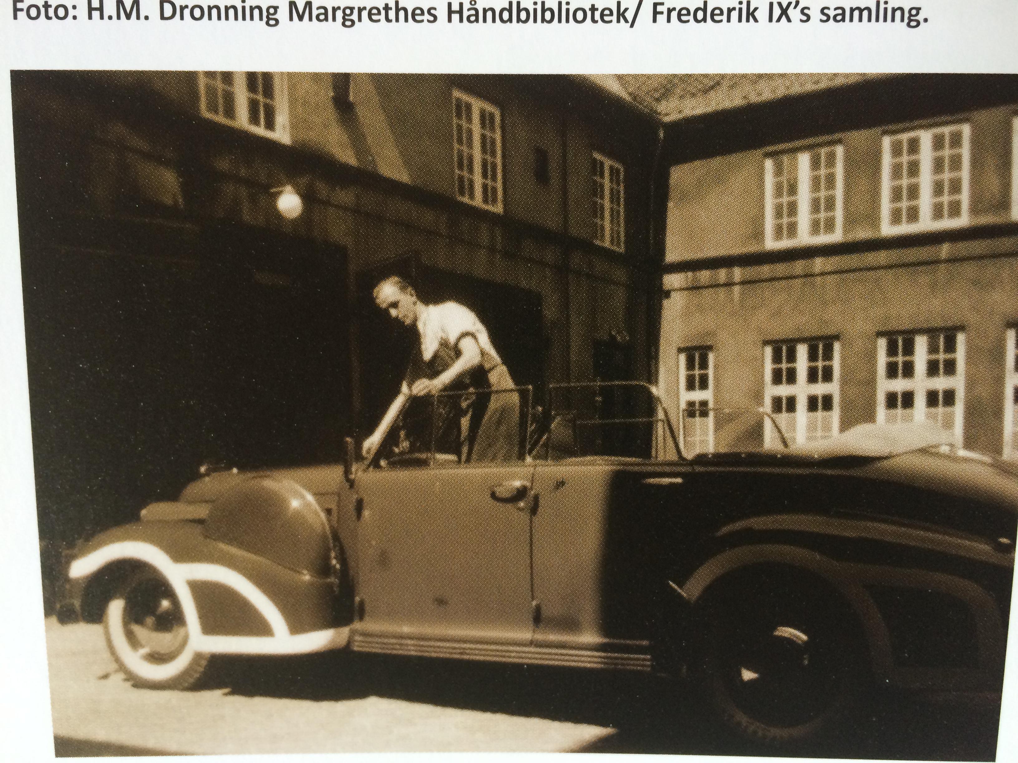 Kong Frederik IX bil samling