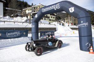 Historisk rally med udgangspunkt i historisk skisportssted i Italien.